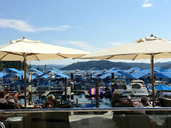 The Coeur d'Alene Resort: Dockside Cafe & Bar