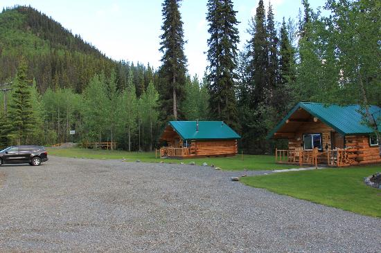 Log Cabin Wilderness Lodge : Our Cabin sleeps 4