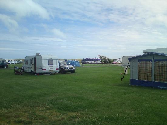 Norman's Bay Camping And Caravanning Club: Emplacement du camping