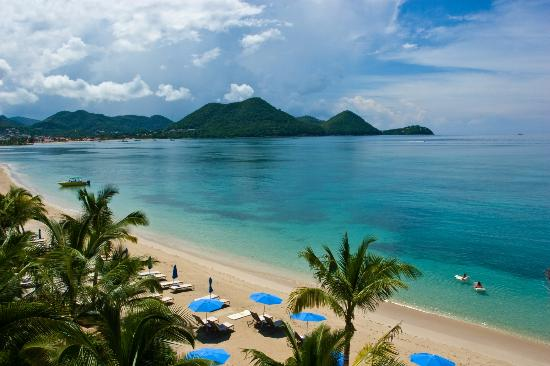 The Landings St. Lucia: Landings excellent beach