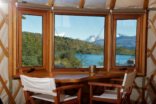 Patagonia Camp: beatiful mornig