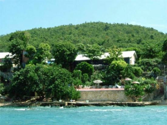 The Cove Jamaica: View of hotel from Sea