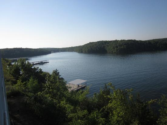 Resort at the Lake of the Ozarks: View from 1 BR condo balcony