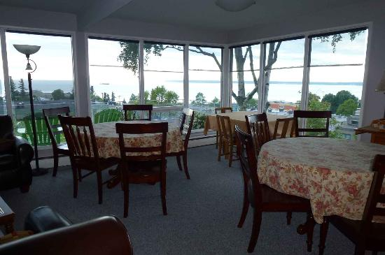 Susitna Place: dinning area on second floor
