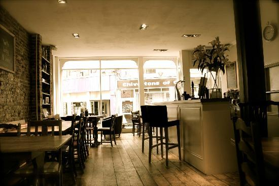 The Coast Bar Dining Room Cowes