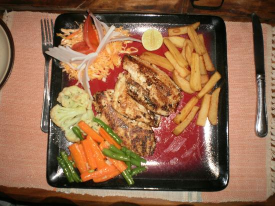 Begnas Lake Resort: The melt-in-the-mouth grilled Lake fish