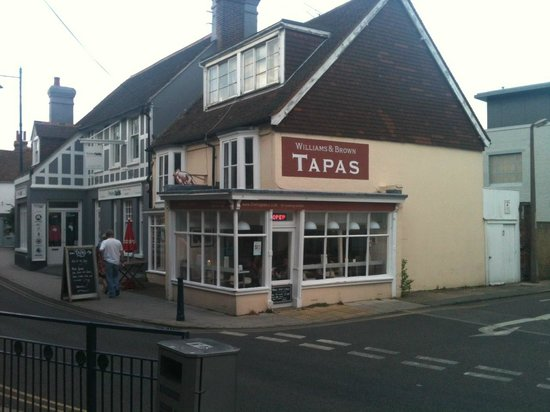 Williams & Brown Tapas, Harbour Street, Whitstable