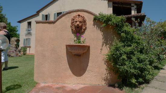 Il Casale Del Madonnino: Garden / side entrance to village