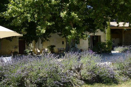 La Garance en Provence: The farmhouse