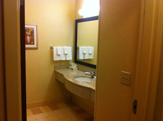 Fairfield Inn &amp; Suites Denton: Bathroom