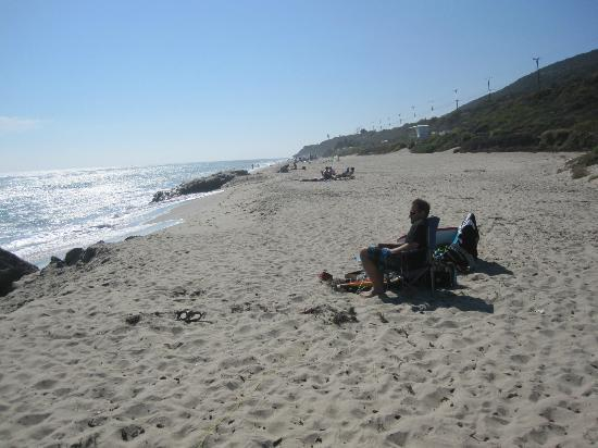 Looking North Down Beach Picture Of Leo Carrillo State