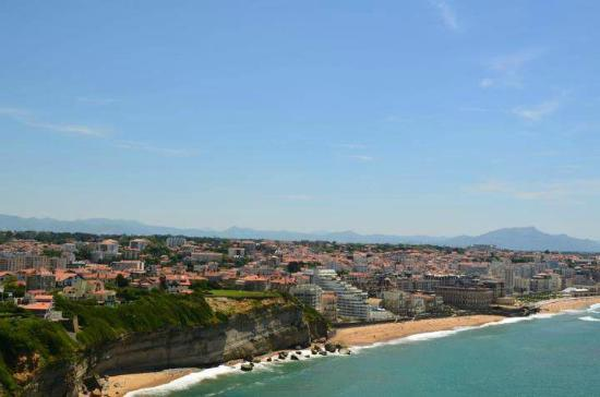 View of the biarritz city picture of phare de biarritz biarritz tripadvisor - Phare de biarritz ...