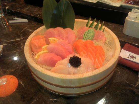 Top seller ahi tower picture of yuri japanese for An new world cuisine cary nc