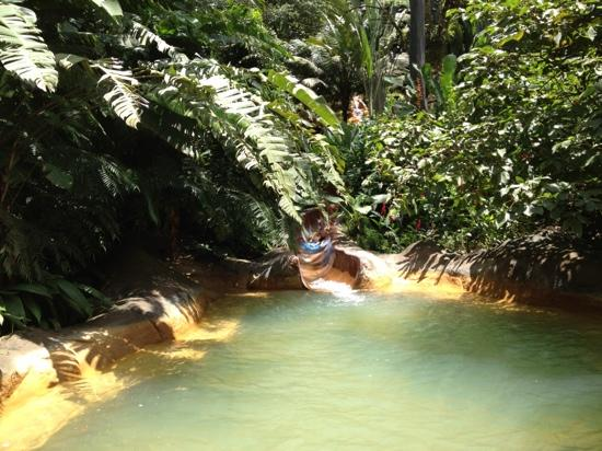 The Springs Resort and Spa at Arenal: Sliding down! So Fun