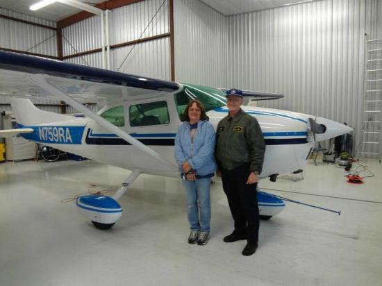 Judy's Touch of Class B&B: Flightseeing with Jim Powell