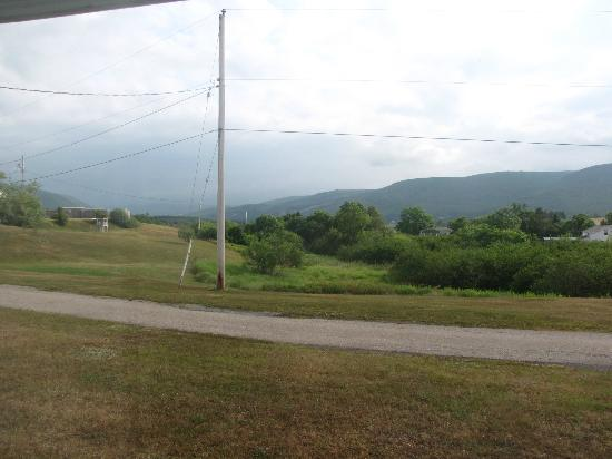 Margaree Forks, Canada: View from our room