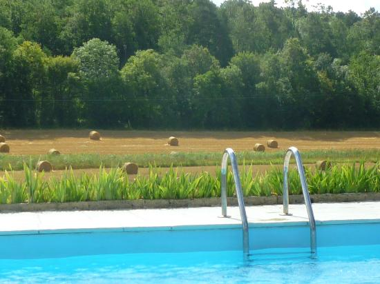Campsegret, Frankrig: View from the pool