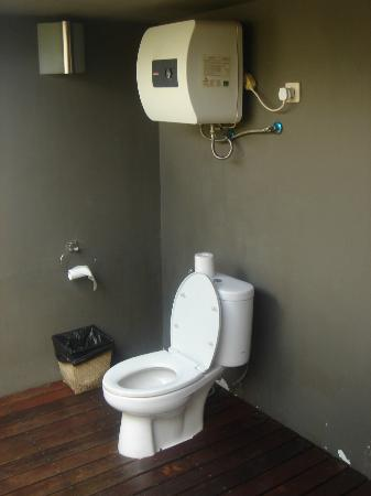 d'Omah Hotel Bali: superb toilet in the room