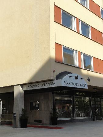 Scandic Hotel Uplandia: Auenansicht
