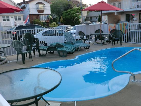 Bay Breeze Motel: Pool