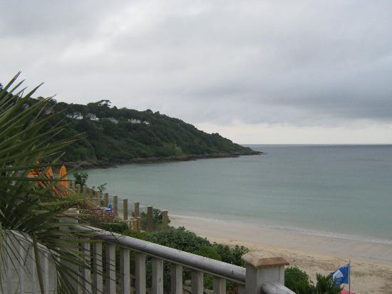 Carbis bay hotel from beach picture of carbis bay hotel for 27 the terrace st ives reviews