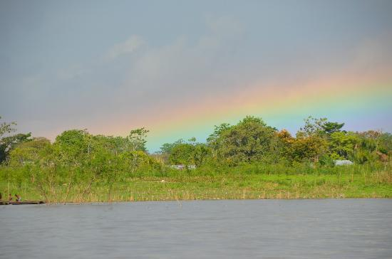 Muyuna Amazon Lodge: Rainbow