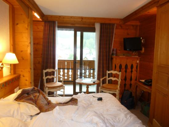 Chalet hotel La Marmotte: Chambre