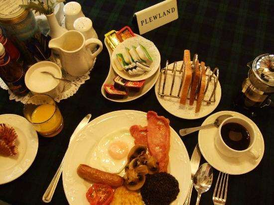 Priory Lodge Guest House: my fav scottish breakfast
