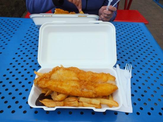 Eingang picture of chippy ardchoille fish and chip cafe for Eds fish and chips