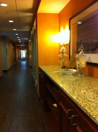 Hampton Inn &amp; Suites Destin-Sandestin: lobby hallway