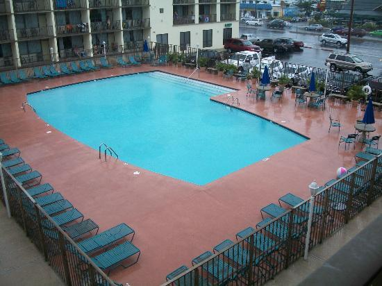 The Beachmark Motel: It has a nice pool :)