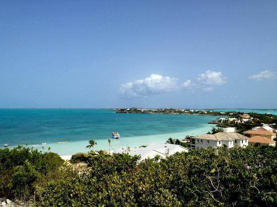 Aquamarine Beach Houses: Sapodilla Bay from Sapodilla Hill