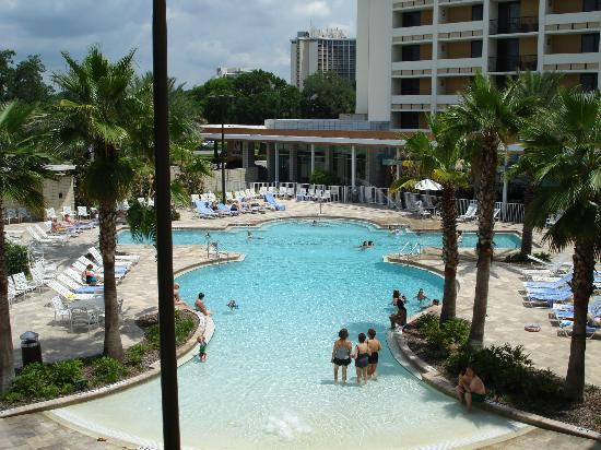 Holiday Inn Lake Buena Vista Downtown: Pool View