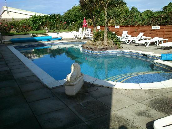 Swimming pool picture of priory lodge hotel newquay tripadvisor for Cornwall hotels with swimming pools