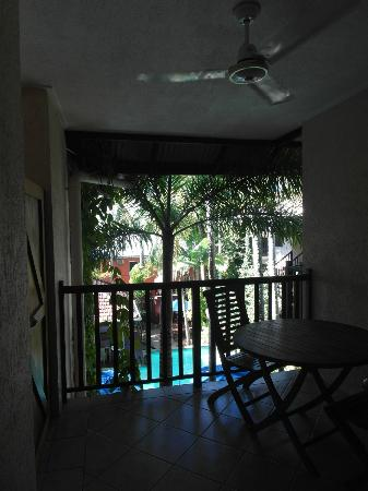 Hibiscus Gardens Spa Resort: Private balcony