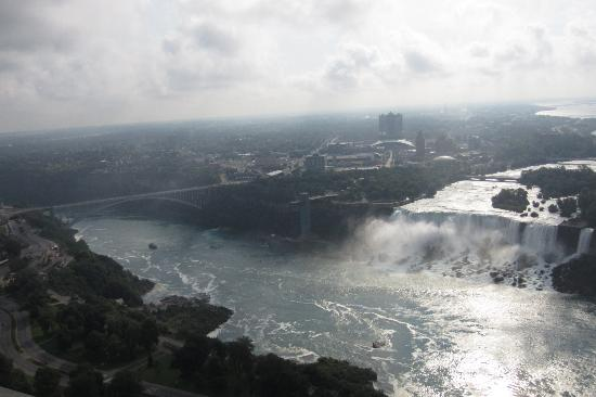 See Sight Tours of Niagara Falls- Private Day Tours: View of American Falls from Skylon Tower
