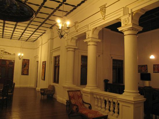 The Mansion: indoor view