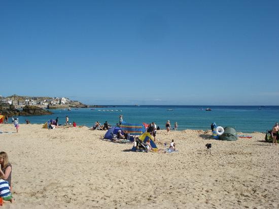 Harbour View: View from Porthminster Beach looking at St Ives Harbour...