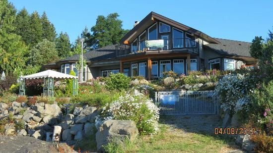 Beachside Garden B & B: View from the water's edge