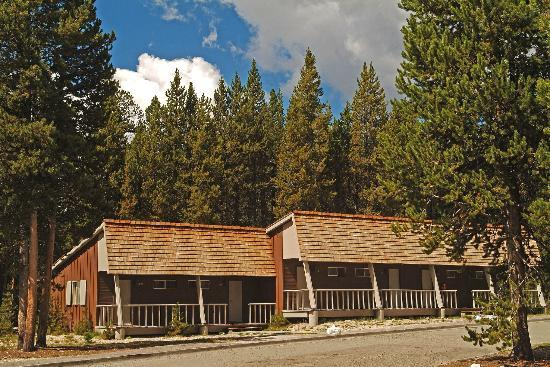 Brand new lodge review of canyon lodge and cabins for Yellowstone log cabin hotel