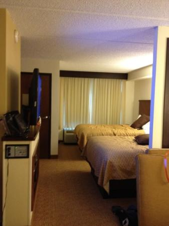 Hyatt Place Austin/Arboretum: double bed room