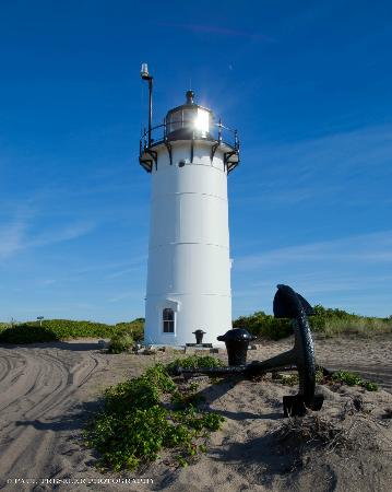 Race Point Lighthouse: midday sun
