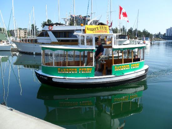 Across the Harbour Bed and Breakfast: water taxi