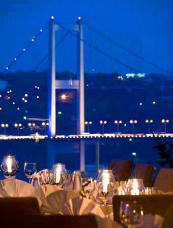 Night View Of Bosphorus Picture Of Sunset Grill Amp Bar Istanbul Tripadvisor