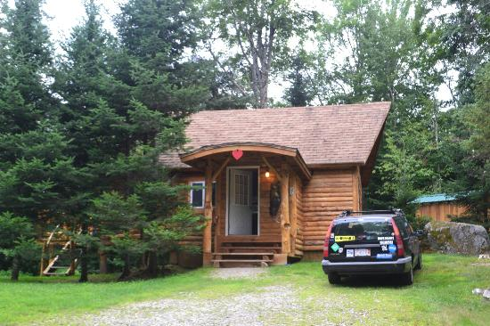 Loggers cabin for New hampshire log cabins