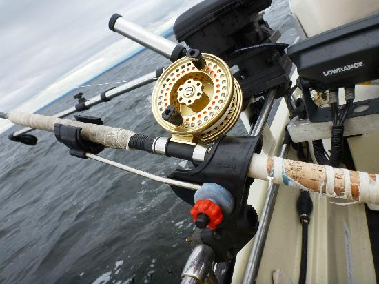 April Point Resort & Spa: Fishing gear provided