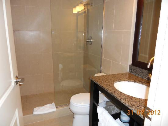 Prestige Inn Kelowna: Bathroom with shower only