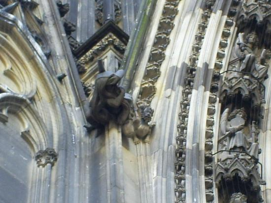 Cologne Cathedral Gargoyles Cologne Cathedral Dom