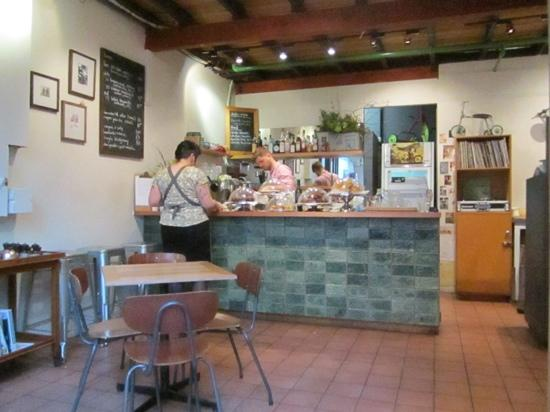View of cafe counter. - Picture of Tricycle Cafe, Hobart