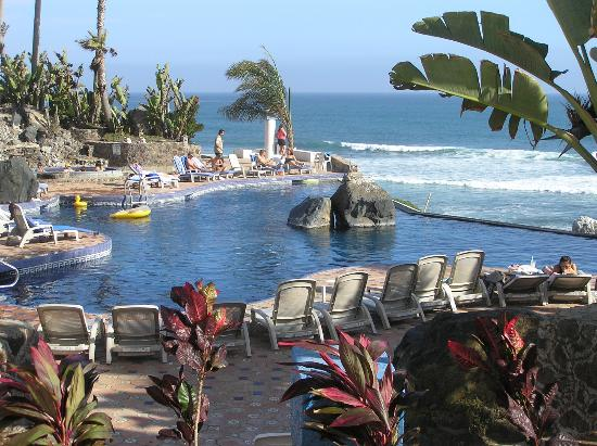 one of the pools picture of las rocas resort and spa. Black Bedroom Furniture Sets. Home Design Ideas